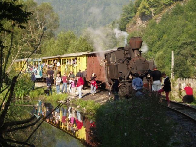 Waldbahnidylle in Rumänien