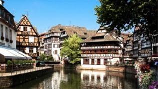 Straßburger Straßenzug