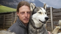 Hundeschlittenführer Martin Eigentler