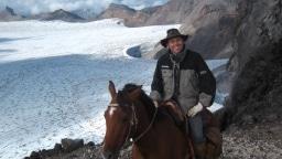 Matthias Boss auf Pferd
