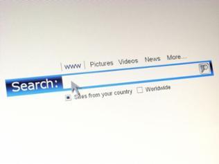 Suchmaschine im Internet