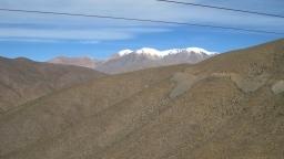 Da sind sie, die Fünftausender der argentinischen Anden.