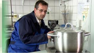 Werkstofftechniker Andree Irretier