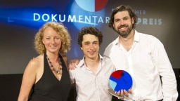 v.li.: Jutta Krug (WDR), Ilian Metev, Ingmar Trost