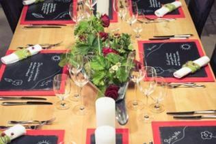 Tischdekoration Dinnertag, Tanja Müller