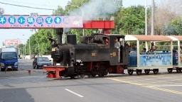 Es gibt sie noch: die gute alte Dampfeisenbahn.
