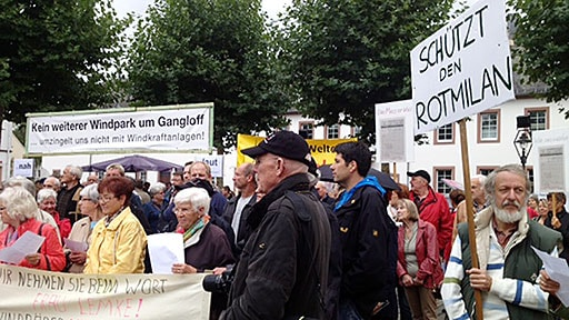 Demo in Simmern