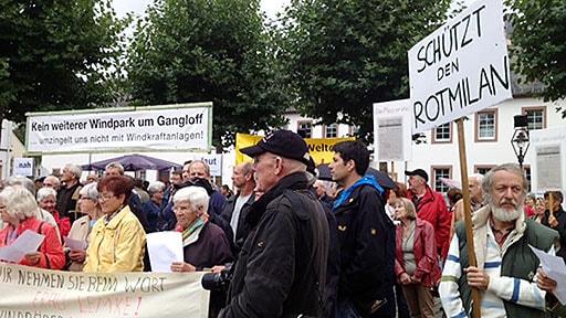 Demo in Simmern