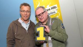 Heinz Rudolf Kunze mit SWR1-Moderator Hanns Lohmann