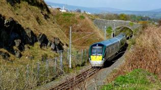 Die Strecke zwischen Dublin und Wexford gilt als die schönste Strecke Irlands.