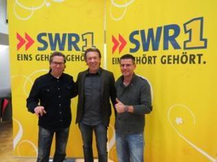 Nosie Katzmann mit Thomas Tscheschner und Frank Jenschar