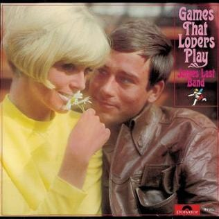James Last Plattencover Games that Lovers play