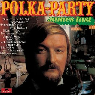 Plattencover James Last Polka-Party