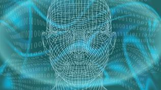 Mensch im Cyberspace