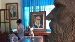 Empfang des Yersin-Museums in Nha Trang.