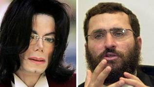 Michael Jackson und Rabbi Shmuley Boteach