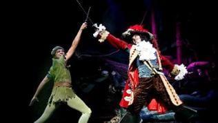 Peter Pan und Captain Hook