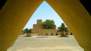Fort Al Jahili, Innenhof