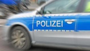 Ein Polizeiauto.