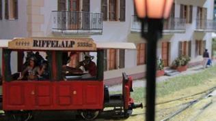 Die Modellbahnreise geht weiter in die Schweiz - die Riffelalp.