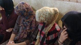 Yezidische Frauen, die 23 Tage in den Händen des IS waren