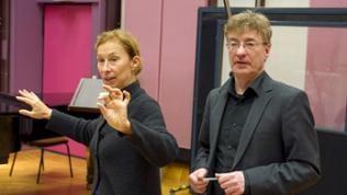 Catherine Milliken und Dietmar Wiesner