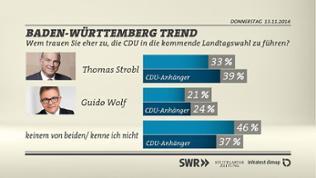 Grafik Vergleich Strobl / Wolf