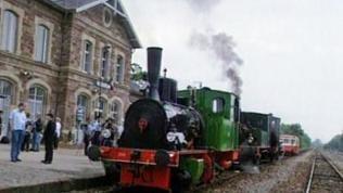 Volgelsheim Bahnhof - ein kleiner Ort auf der französischen Seite des Rheins.