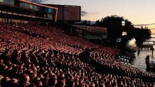 Zuschauertribüne Bregenzer Festspiele