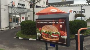 Burger King Filiale in Heilbronn