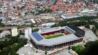 Fritz-Walter-Stadion aus der Luft