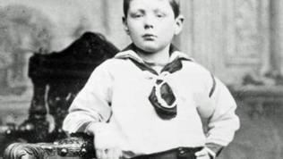Churchill als Siebenjähriger (1881)
