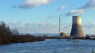 Kühlturm von Atomkraftwerk Mülheim-Kärlich
