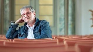 Der Geiger und Dirigent Reinhard Goebel