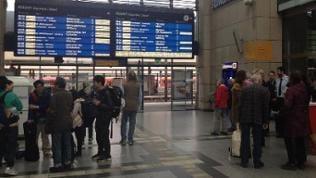 Bahnhofshalle Mannheim