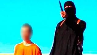 Screenshot eines Videos, das von der Terrormiliz Islamischer Staat (IS)