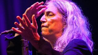 Patti Smith beim Winterbacher Zeltspektakel