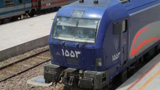 Lokomotive in Teheran