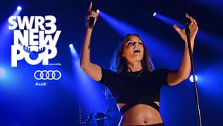 Sängerin Tove Lo beim SWR New Pop Festival 2015. Logo: SWR3 NEW POP