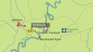 Enkirch Karte