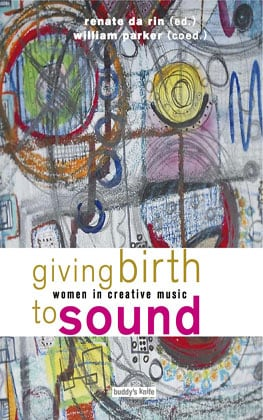 Buch-Cover giving birth to sound