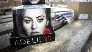 "Das neue Album von Adele ""25""."