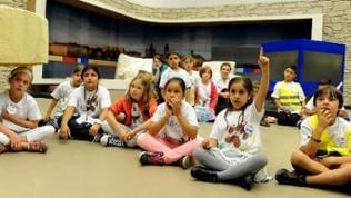 Kinder bei der SWR Dschungeltour