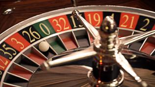 Ein Roulette-Tisch im Casino Baden-Baden
