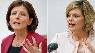 Ministerpräsidentin Malu Dreyer (SPD) / CDU-Oppositionschefin Julia Klöckner