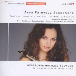 CD-Cover Fateyeva