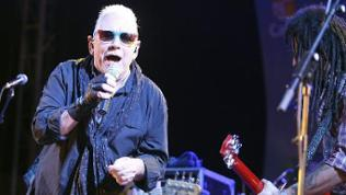 A picture made available on 13 July 2013 shows Eric Burdon (L), singer of the British band 'The Animals