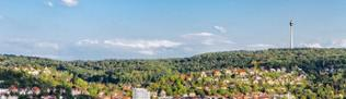 Stadtansicht von Stuttgart