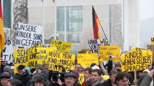 Pegida-Demonstration am 23.01.2016 in Berlin