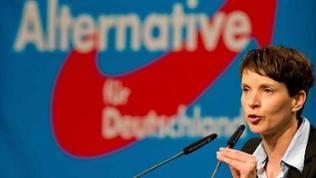 AFD-Parteivorsitzende Frauke Petry